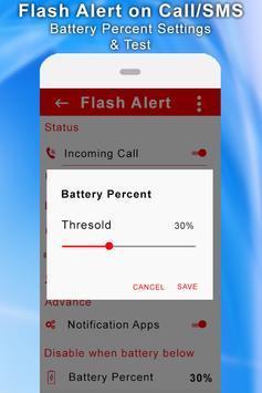 Flash Alert On Call/SMS screenshot 3