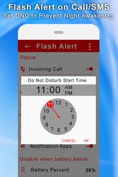 Flash Alert On Call/SMS screenshot 4