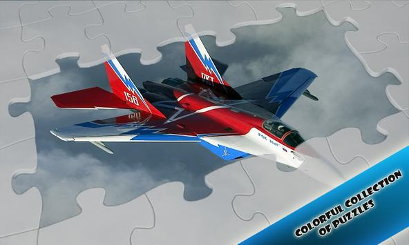 Jigsaw Airplane Fighters poster