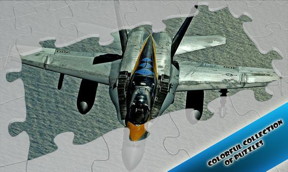 Jigsaw Airplane Fighters apk screenshot