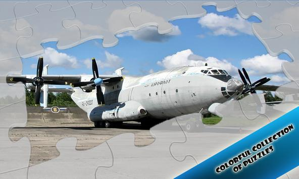 Jigsaw Puzzles Large Airplanes poster