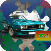 Jigsaw Puzzles Muscle Cars 1 icon