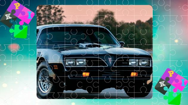 Jigsaw Puzzles Muscle Cars 1 poster