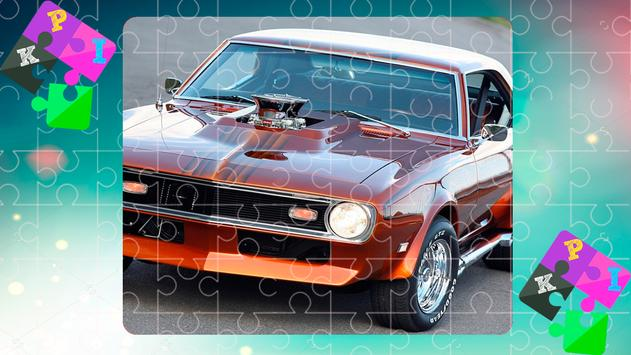 Jigsaw Puzzles Muscle Cars 1 screenshot 1