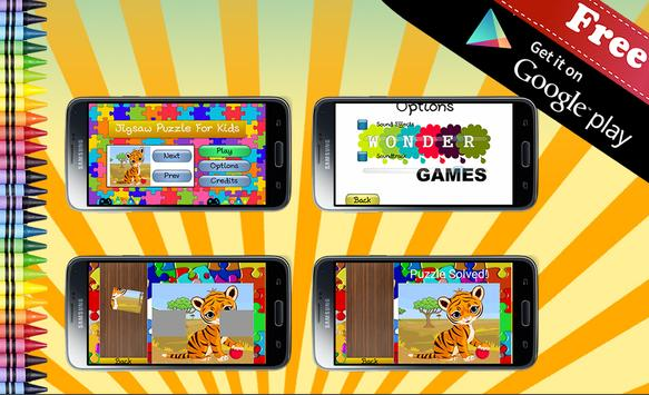 Jigsaw Puzzle Wild Animals apk screenshot