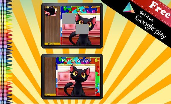 Jigsaw Puzzle Cats screenshot 13