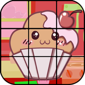Jigsaw Puzzle Cupcakes icon