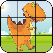 Jigsaw Puzzle Dinosaurs icon