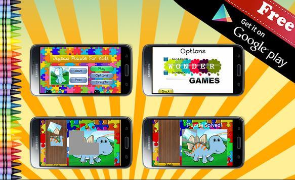 Jigsaw Puzzle Dinosaurs apk screenshot