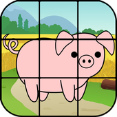 Jigsaw Puzzle Farm Animals icon