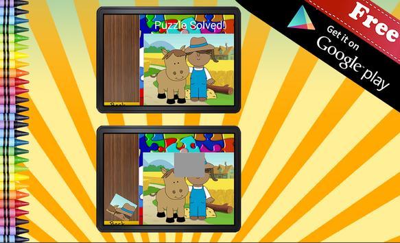 Jigsaw Puzzle Farm Animals apk screenshot