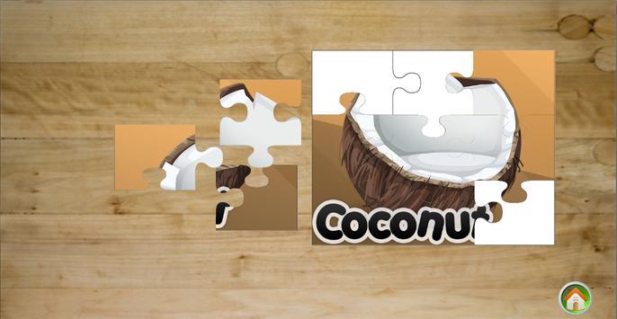 Fun Food Puzzle Game poster