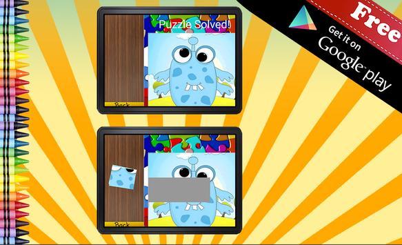 Jigsaw Puzzle Monsters apk screenshot
