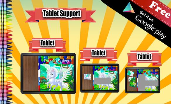 Jigsaw Puzzle Pony apk screenshot