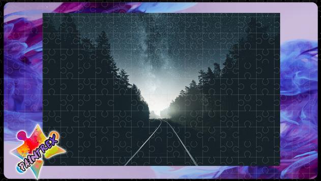 Jigsaw Puzzles Railways poster