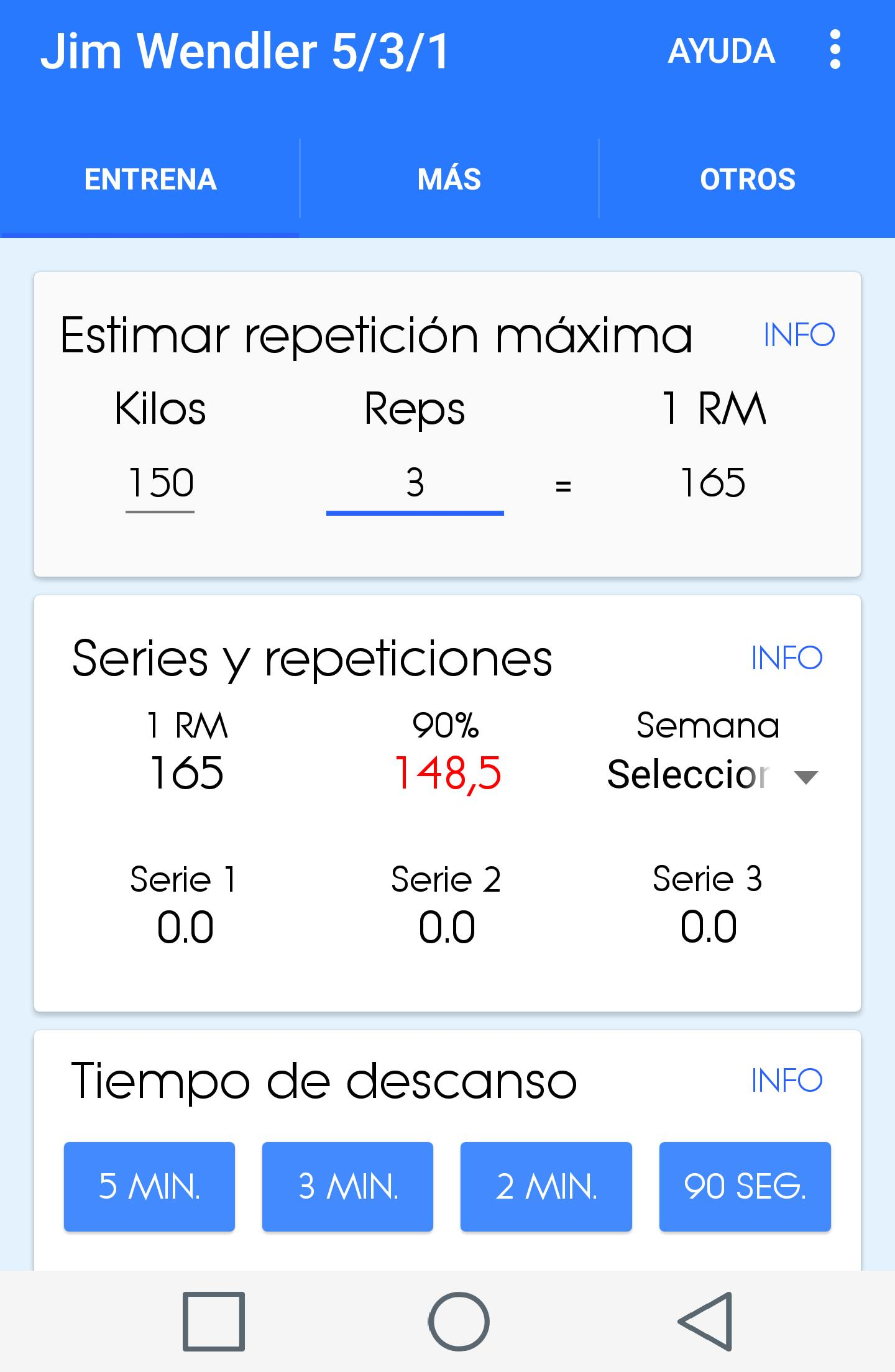 Calculadora 531 Jim Wendler for Android - APK Download