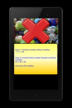 5th Grade - Problem Solving apk screenshot