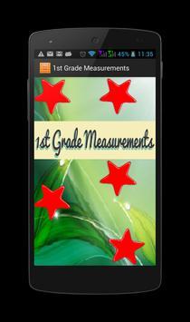 1st Grade Measurements apk screenshot