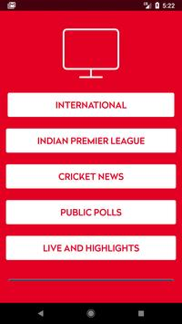 Tata Sky Live Cricket Game screenshot 1