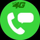 Free JIO4GVOICE call tips icon