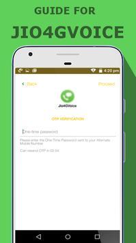 Free JIO4GVOICE call tips apk screenshot