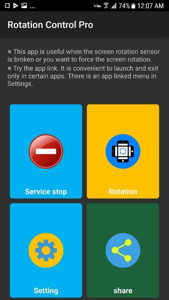 Screen Rotation Apk