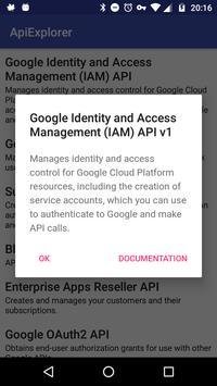 ApiExplorer for Google BETA screenshot 1