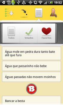 MARIO PRATA Brazilian Sayings apk screenshot