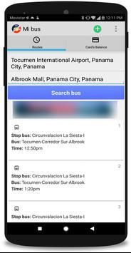 Mi Bus - Panama poster