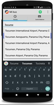 Mi Bus - Panama screenshot 1
