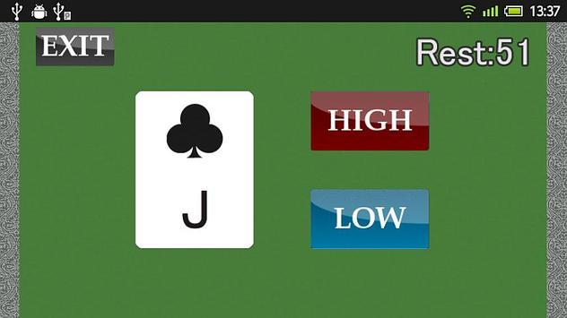High & Low screenshot 1