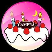 Birthday Camera icon
