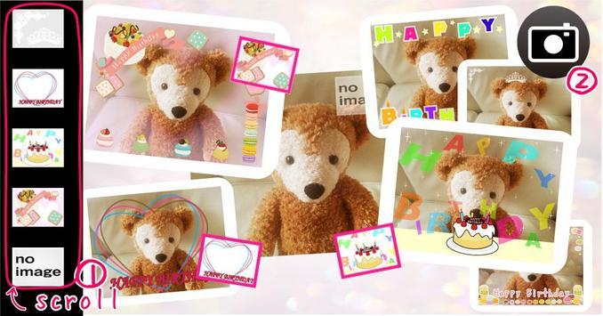 Birthday Camera screenshot 2