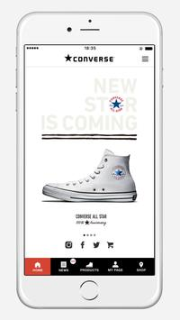 CONVERSE(コンバース)公式アプリ poster