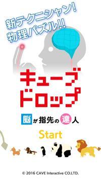 キューブドロップ~脳が指先の達人~ poster