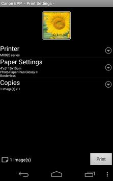 Canon Easy-PhotoPrint screenshot 2
