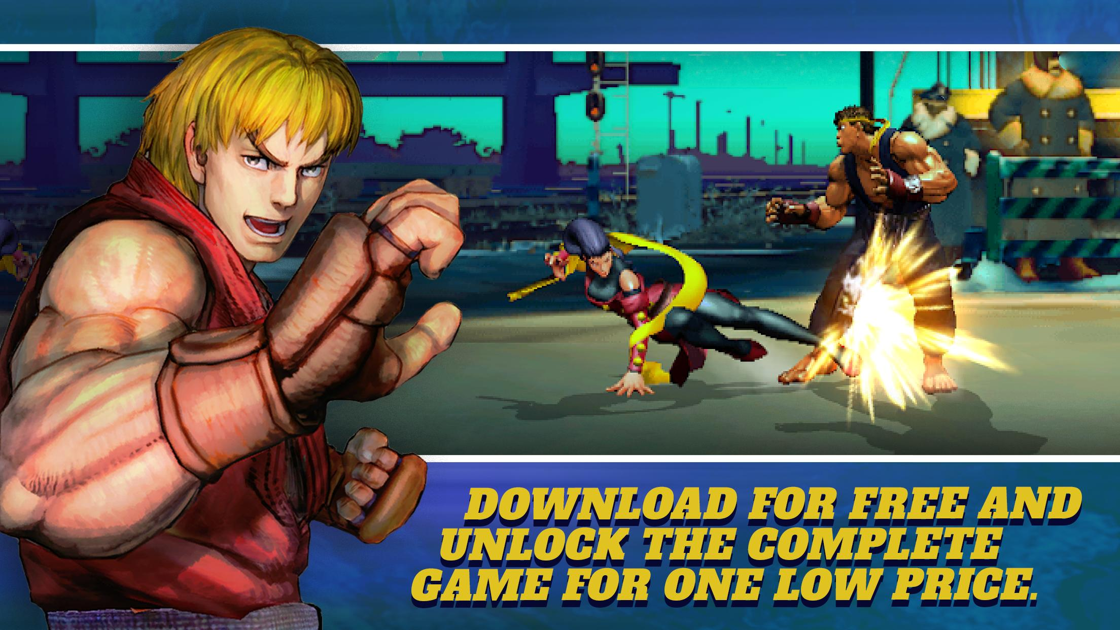 Street Fighter Iv Champion Edition For Android Apk Download
