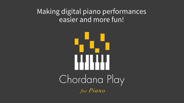 Chordana Play for Piano poster