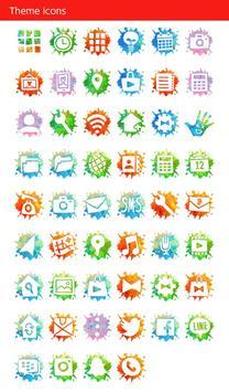 Holi Theme Colorful Hand apk screenshot