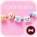 Wallpaper, ikon Candy Friends APK