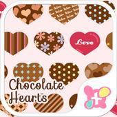 Chocolate Hearts Wallpaper icon