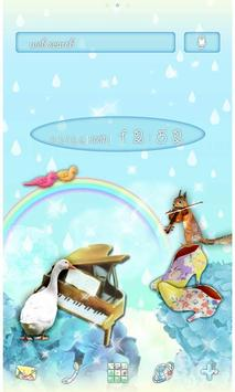 Rainbows Theme-Rainy Recital- poster