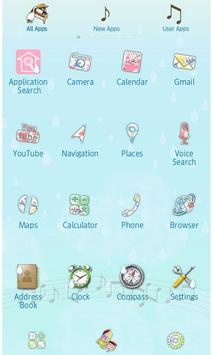 Rainbows Theme-Rainy Recital- apk screenshot