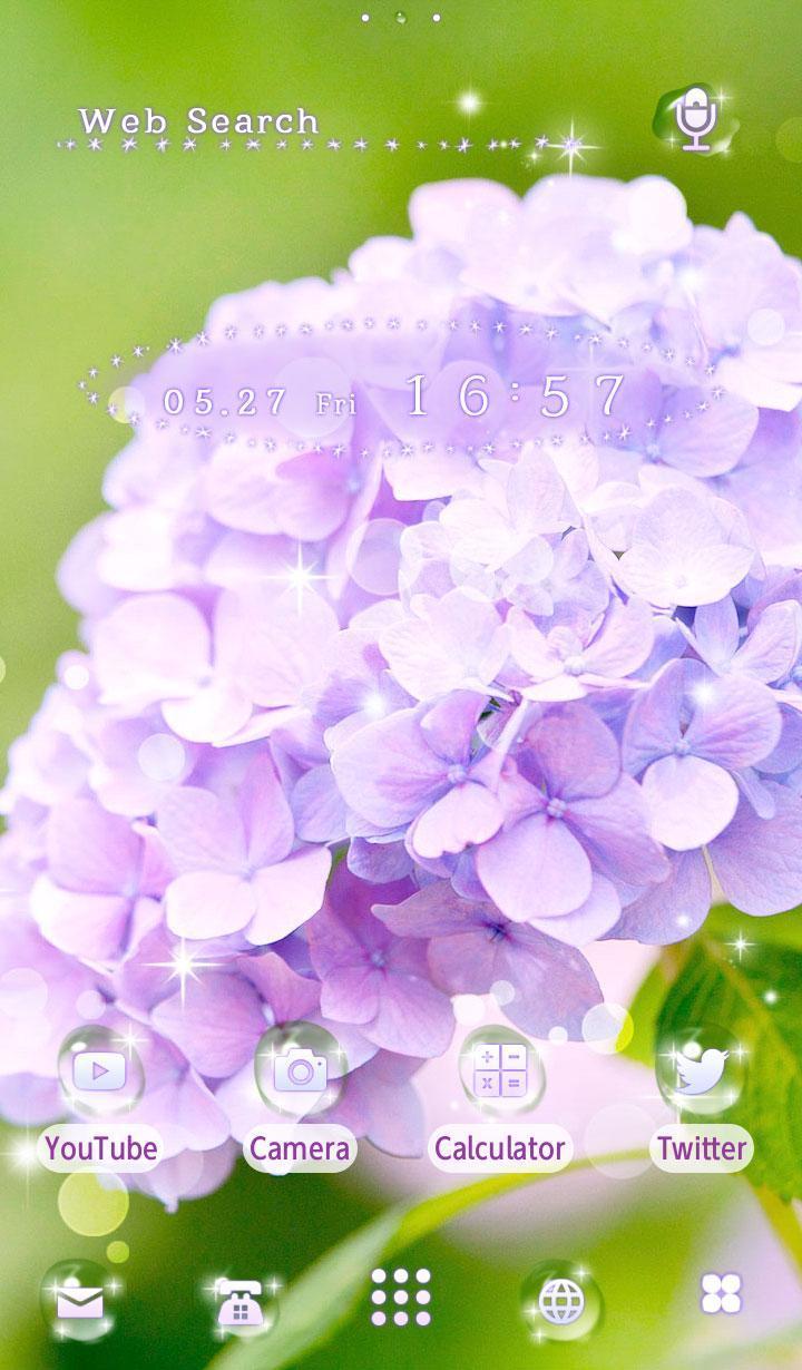 花桌布紫陽花安卓下載 安卓版apk 免費下載