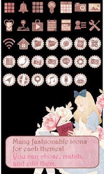 Cute Theme-Rosy Alice- apk screenshot