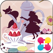 Alice's Sweets Wallpaper Theme icon