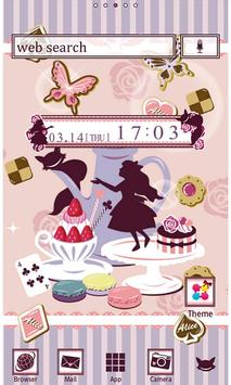 Alice's Sweets Wallpaper Theme poster