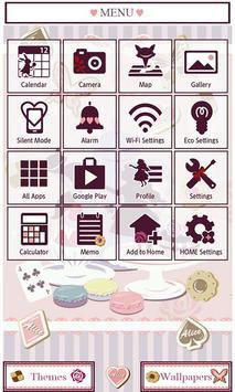 Alice's Sweets Wallpaper Theme apk screenshot