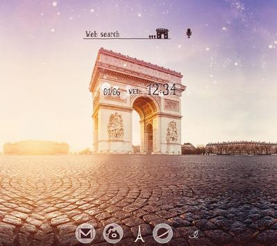 Wallpaper-Arc de Triomphe- poster