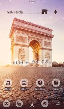 Wallpaper-Arc de Triomphe- apk screenshot